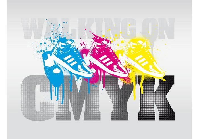 CMYK Text Art