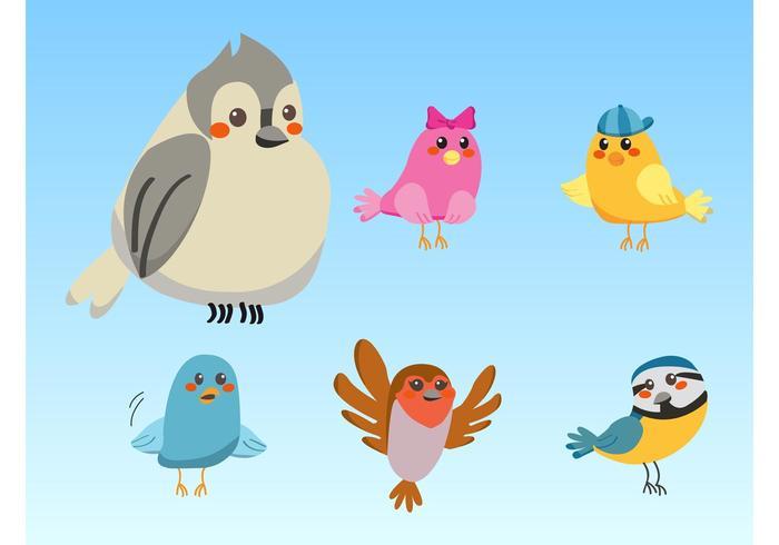 Nette Vögel