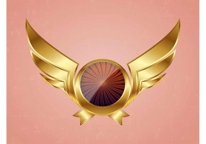 Golden Vector Wings