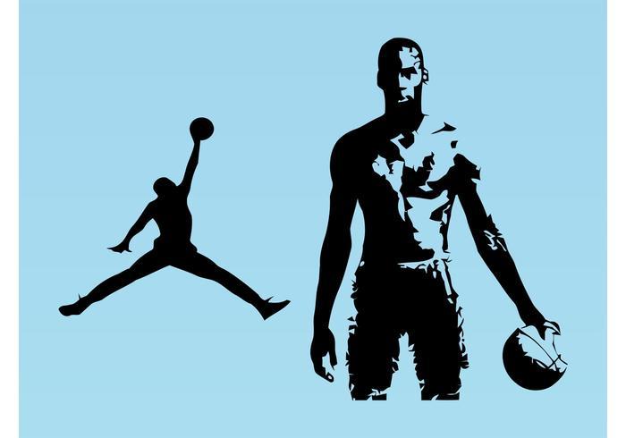 Michael Jordan vektor