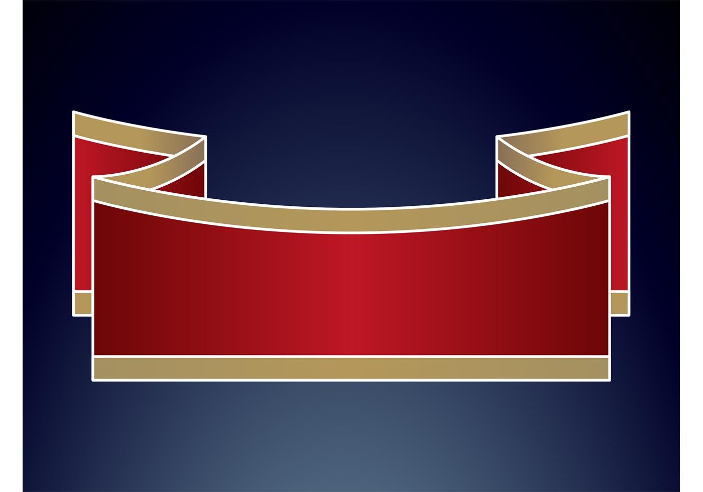 Minimal ribbon banner download free vector art stock for Minimal art vector