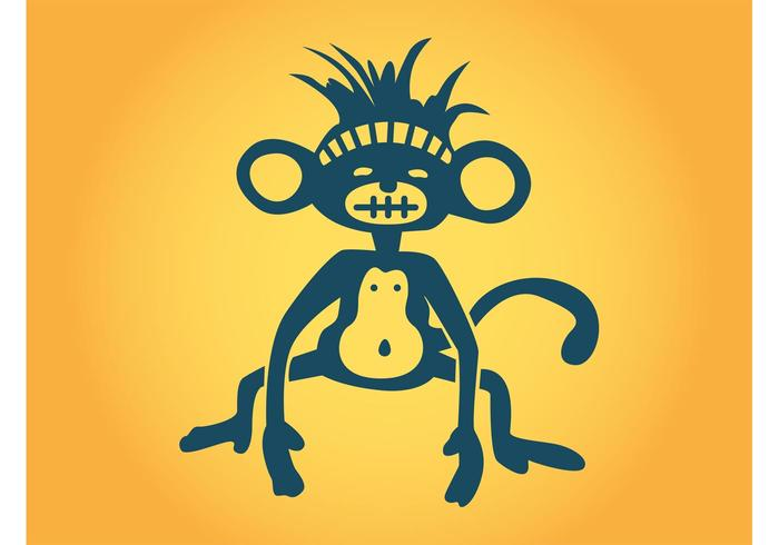 Stylized Monkey