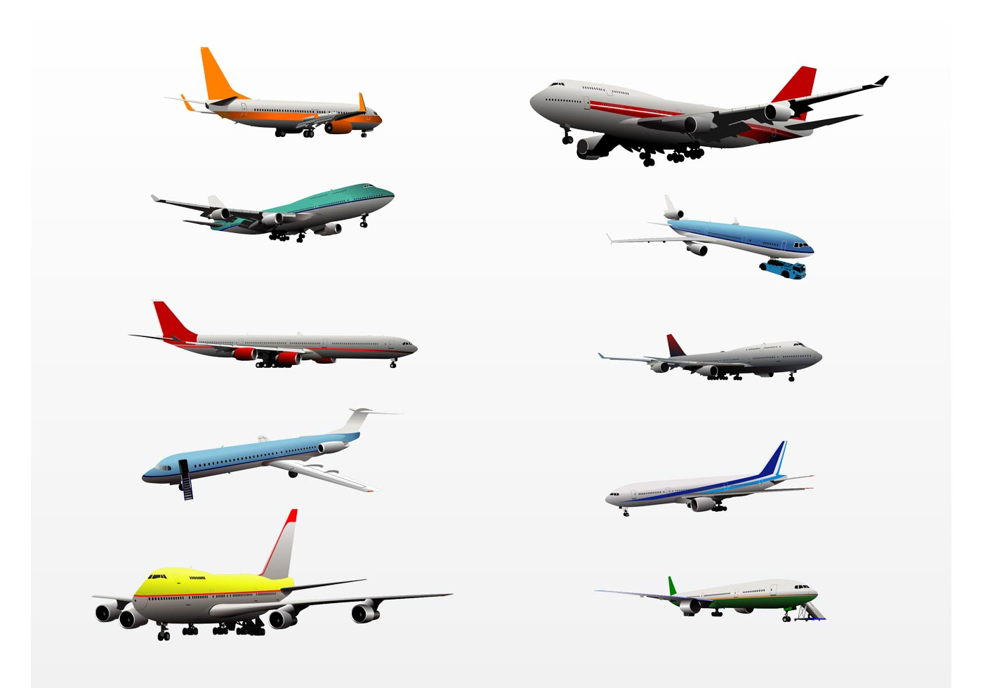 Airplanes Download Free Vector Art Stock Graphics Images