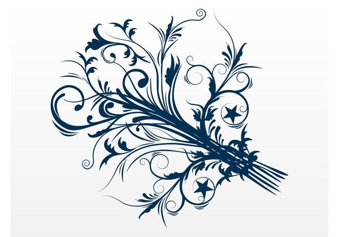 Swirly Blume
