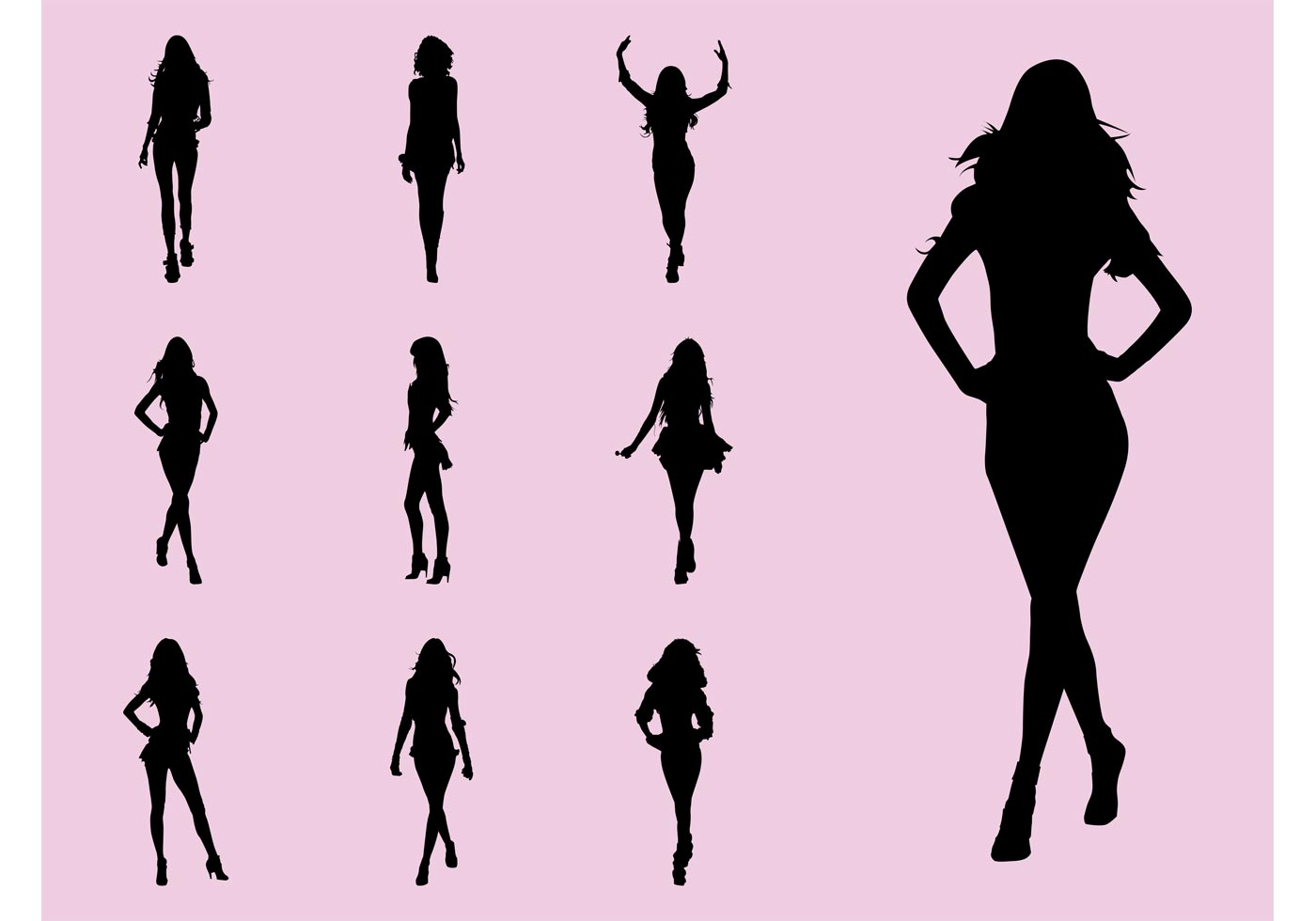 Fashion Models Download Free Vector Art Stock Graphics