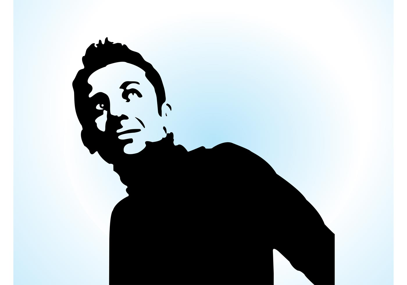 Minimal portrait download free vector art stock for Minimal art vector