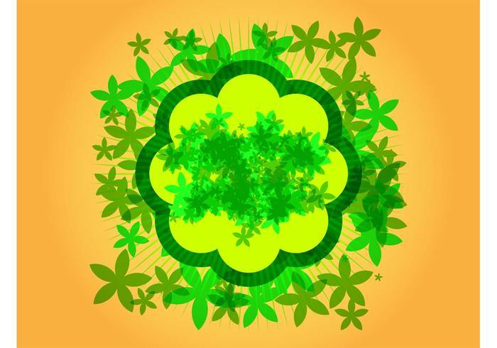 Diseño de flores Vector