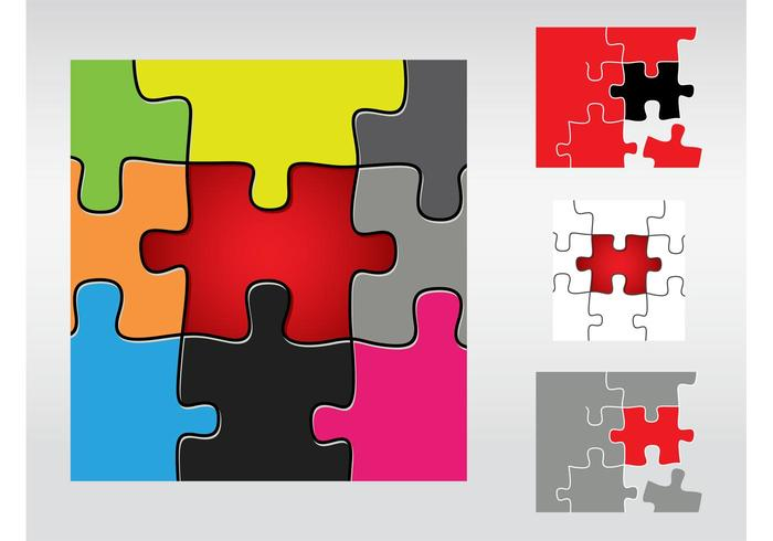 puzzle free vector art 1774 free downloads rh vecteezy com vector puzzle piece road vector puzzle template