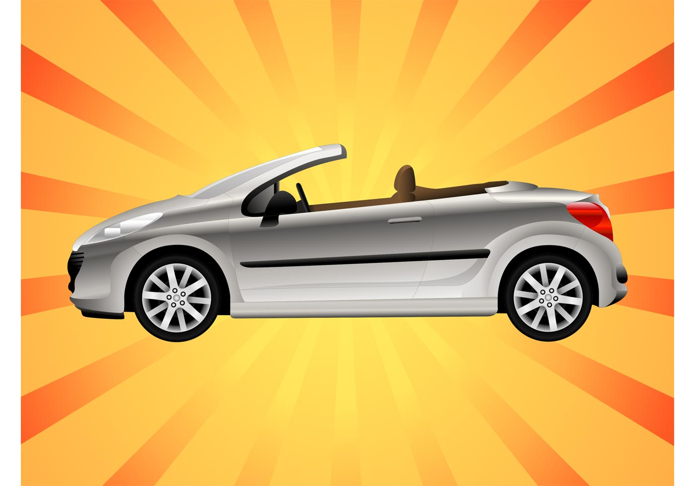 Convertible Download Free Vector Art Stock Graphics