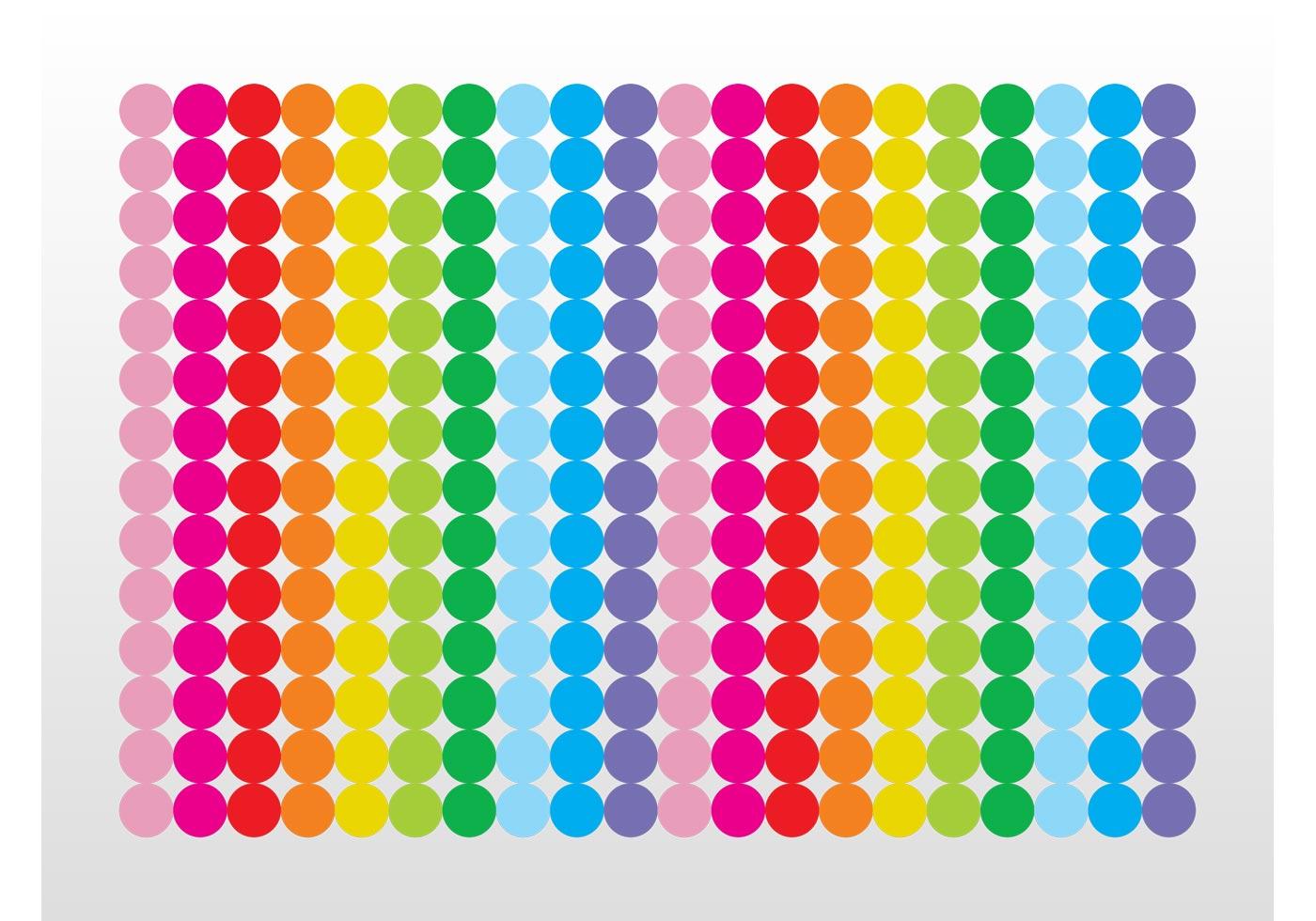 Rainbow Dots Download Free Vector Art Stock Graphics