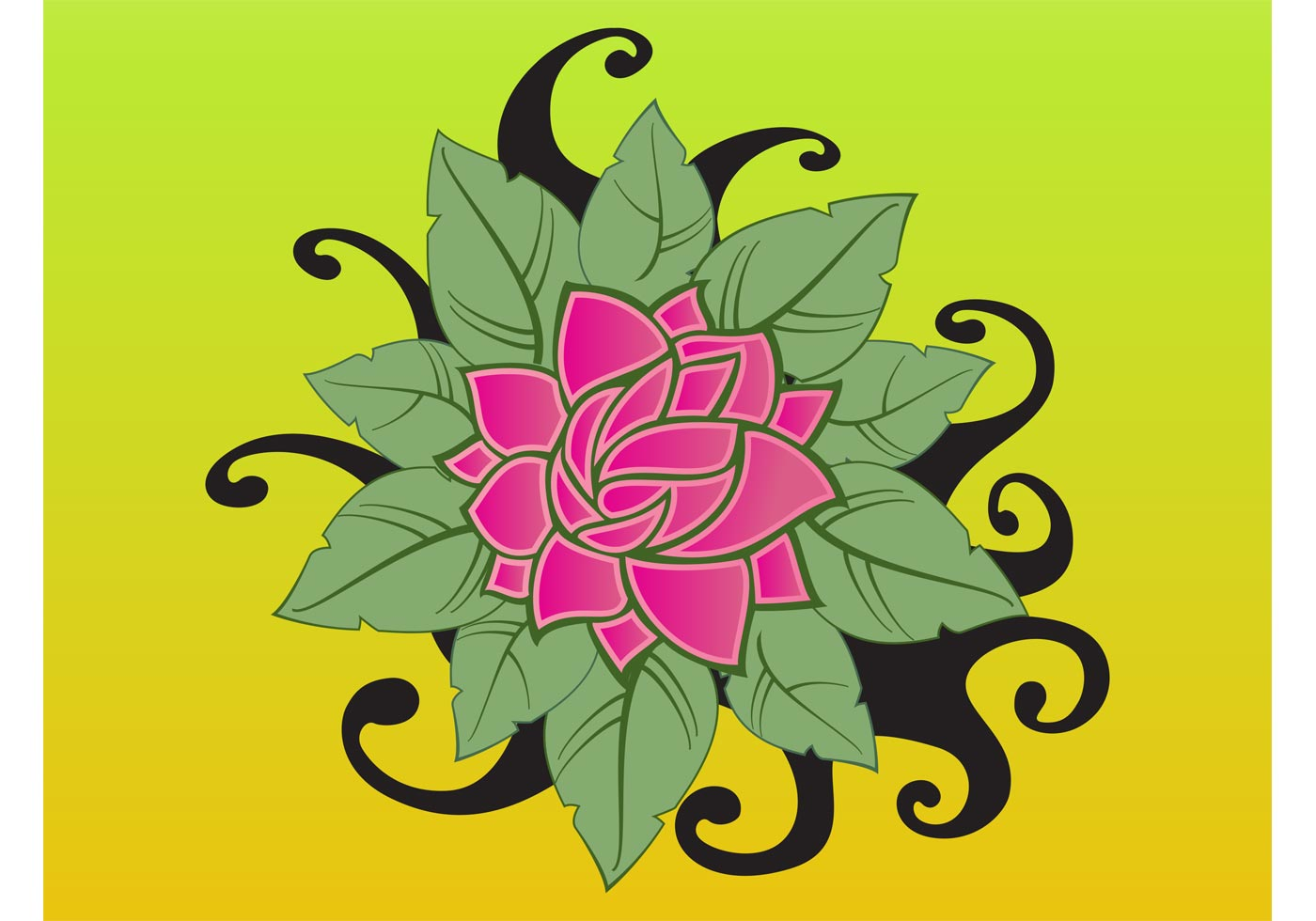 Lotus Flower Download Free Vector Art Stock Graphics Images