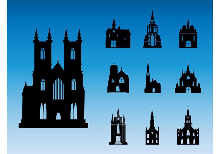 Church Silhouettes
