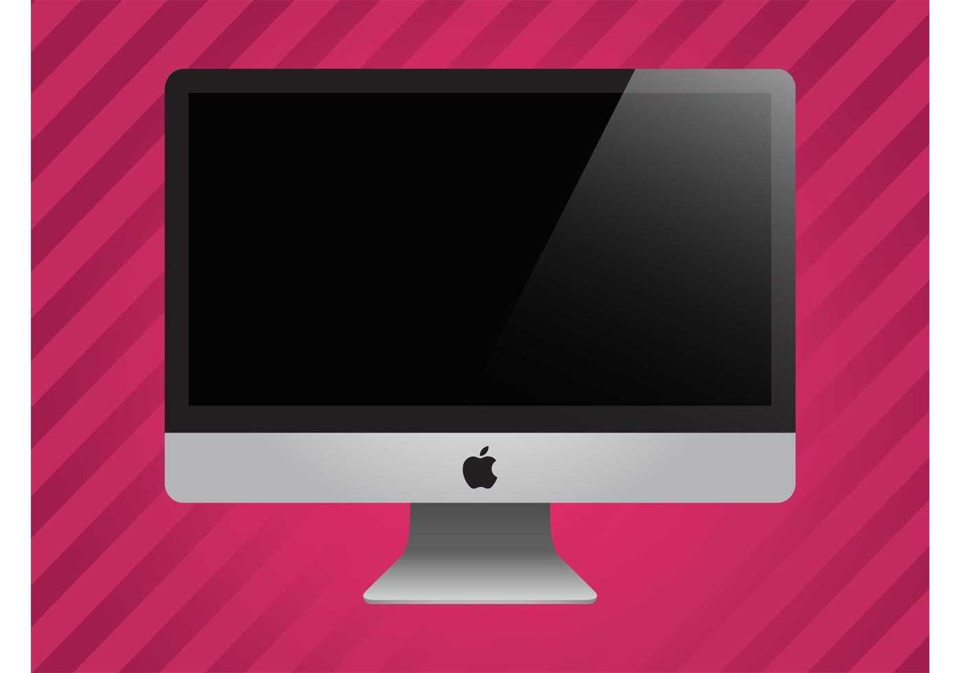 Apple imac vector - Descargue Gráficos y Vectores Gratis