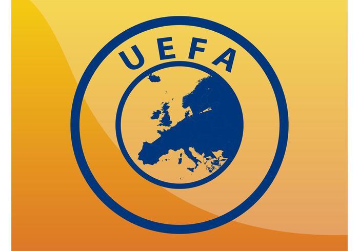 Logo UEFA vettore