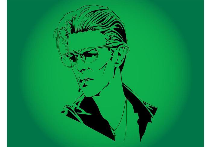 David Bowie Vector