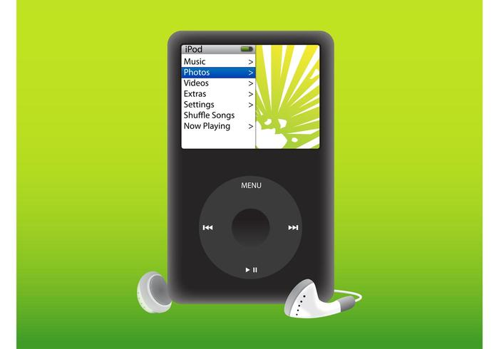 iPod Player - Download Free Vector Art, Stock Graphics & Images