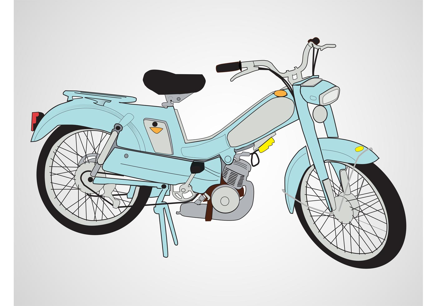 Scooter vector download free vector art stock graphics for Motor scooter blue book
