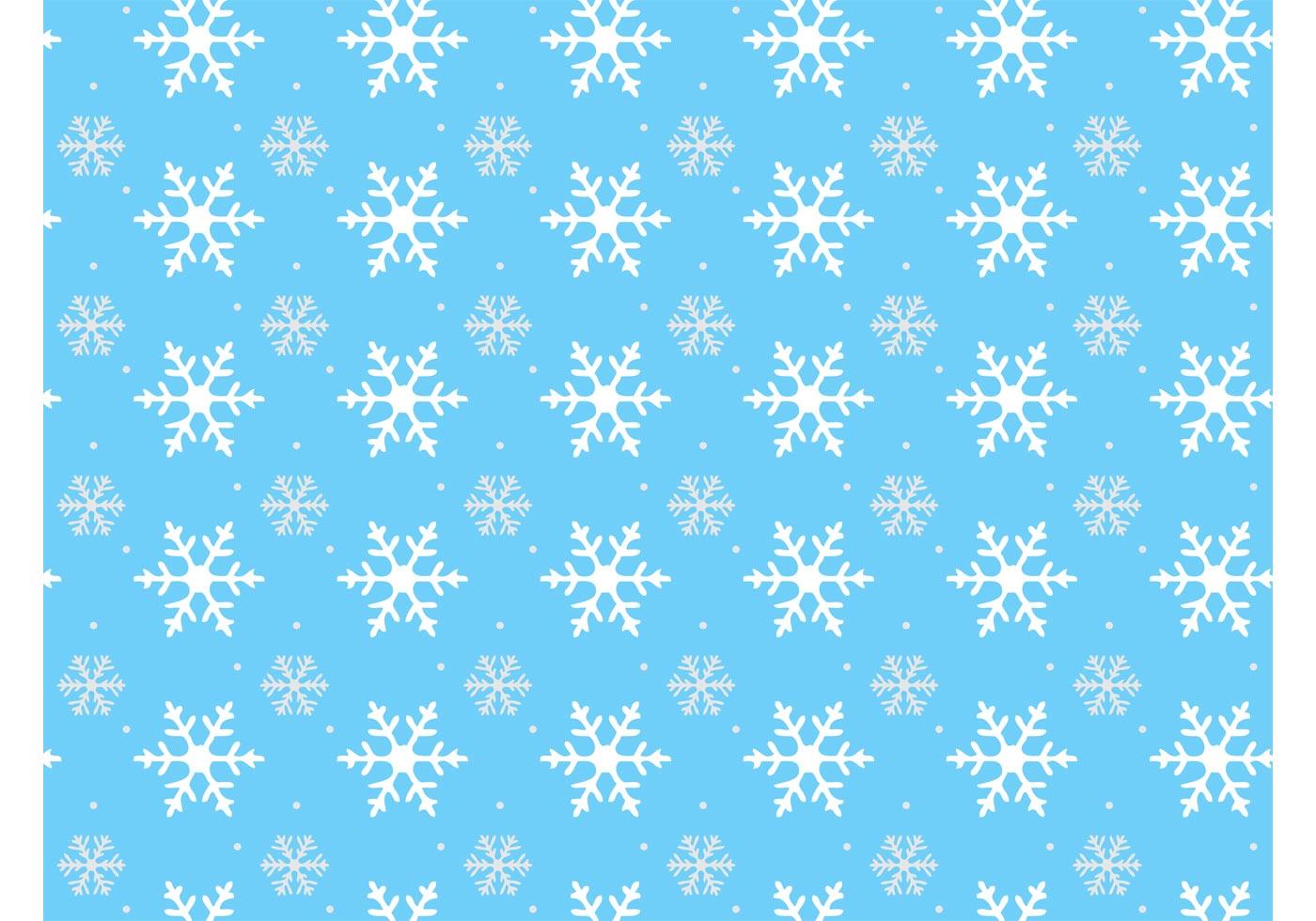 snowflake pattern free vector art