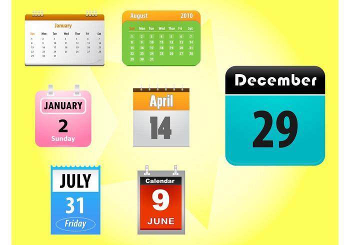 Kalender-Icons