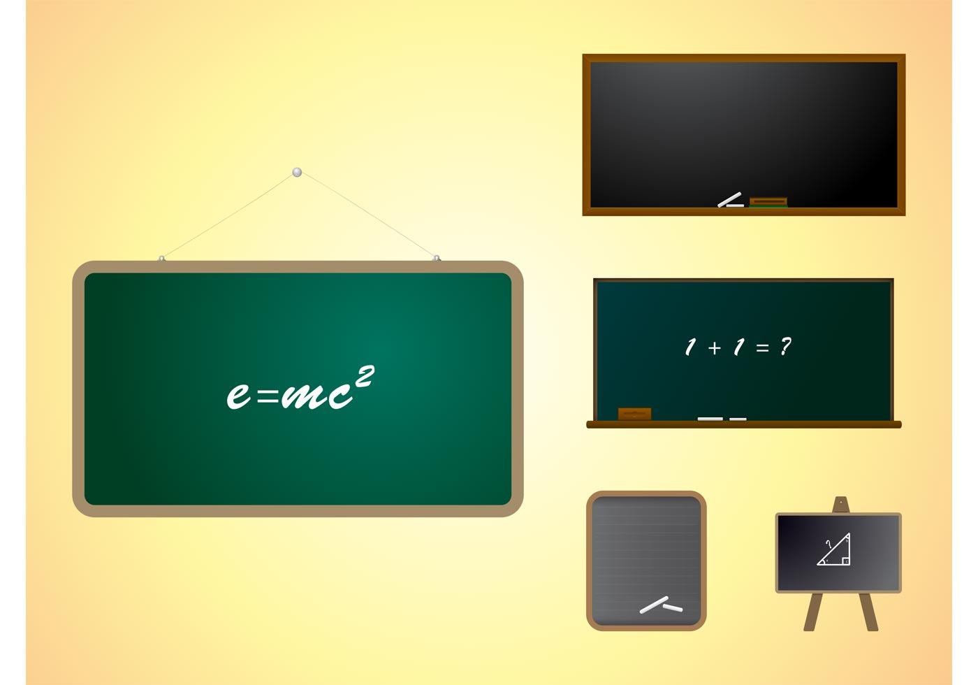 Classroom Design Competition ~ Blackboard free vector art downloads