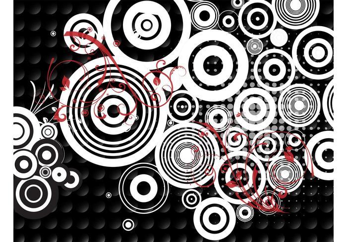 Círculos de pontos
