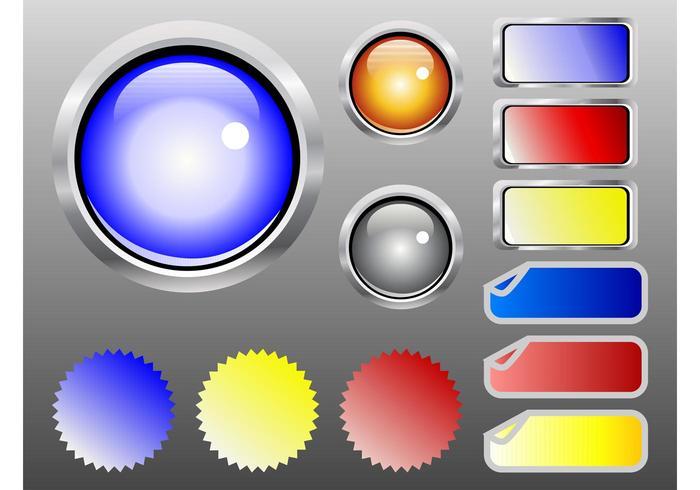 Shiny Web Buttons