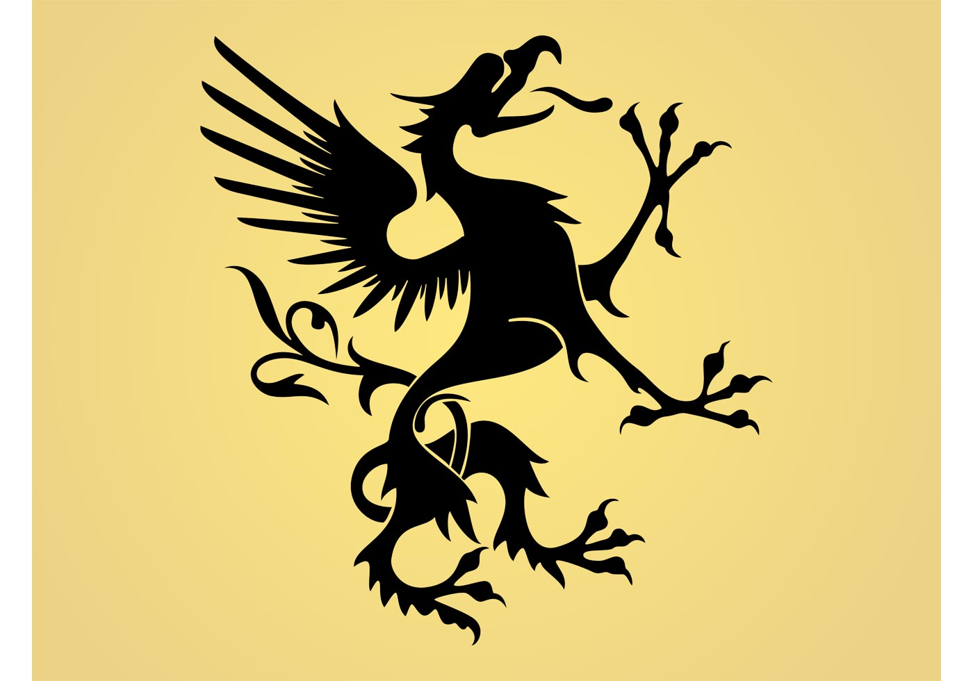 royal griffin download free vector art stock graphics