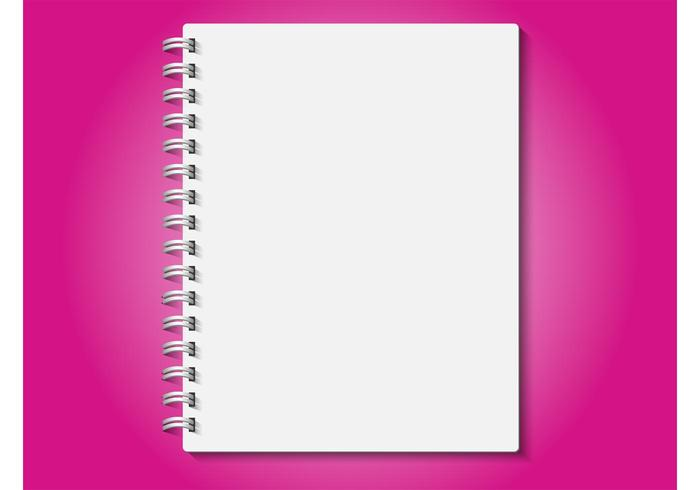 Realistic Notebook