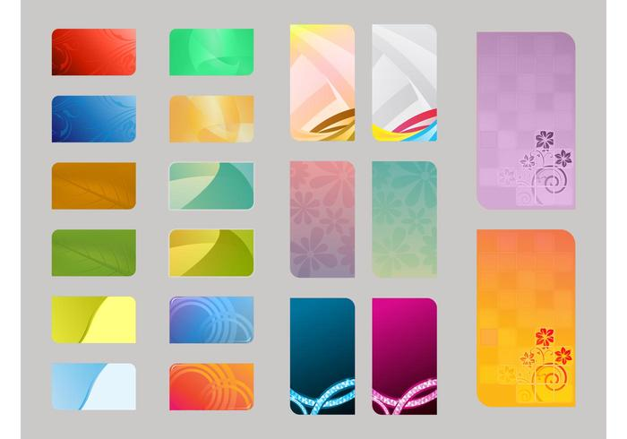 Colorful Card Templates