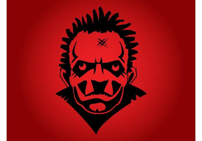Homem psicopata