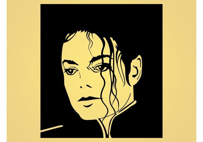 michael jackson vector download free vector art stock
