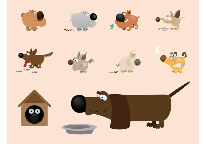 cartoon dogs download free vector art stock graphics images