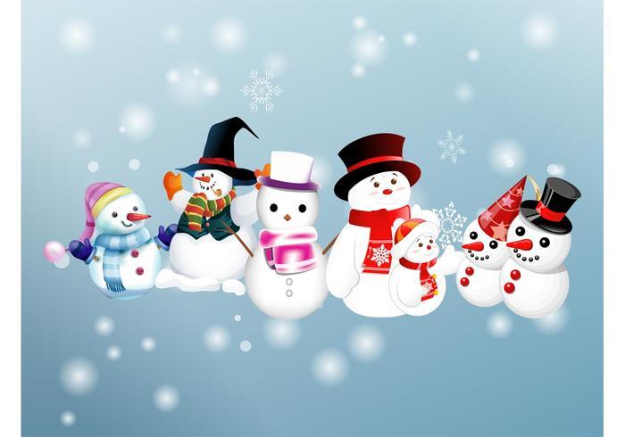 snowman vectors download free vector art stock graphics images