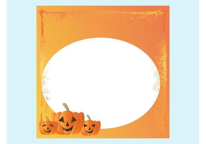 Plantilla de la tarjeta de Halloween - Descargue Gráficos y Vectores ...