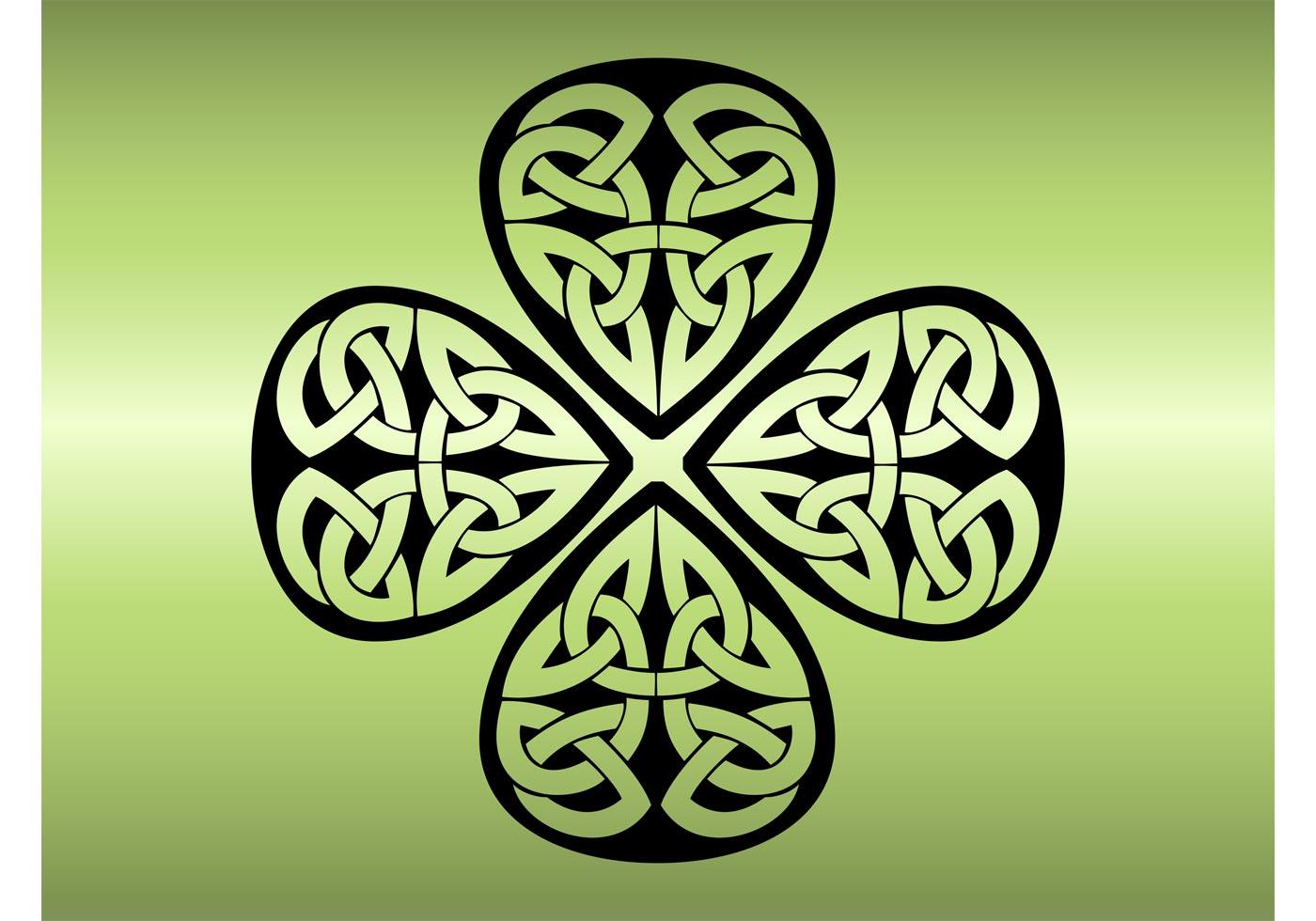Irish Shamrock Free Vector Art 136 Free Downloads