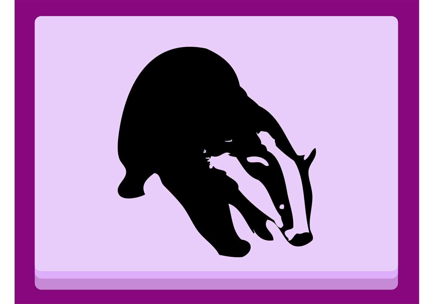 badger download free vector art stock graphics amp images