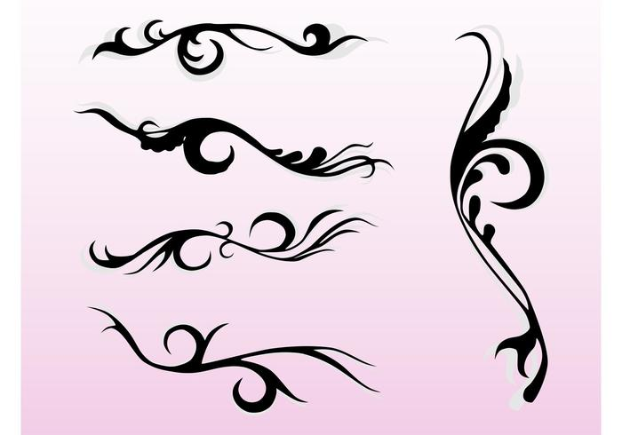 Swirling Flourishes