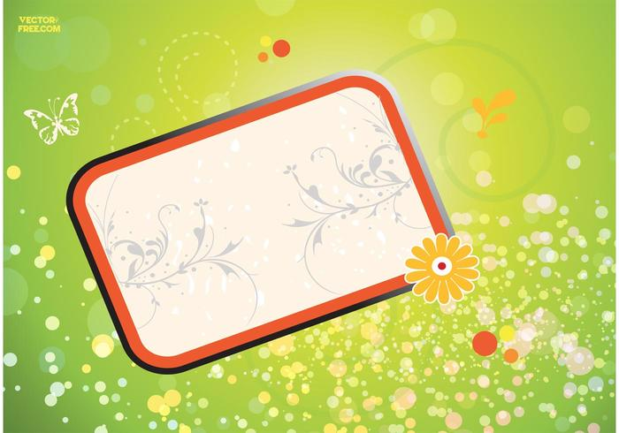 Cool Floral Frame Graphics