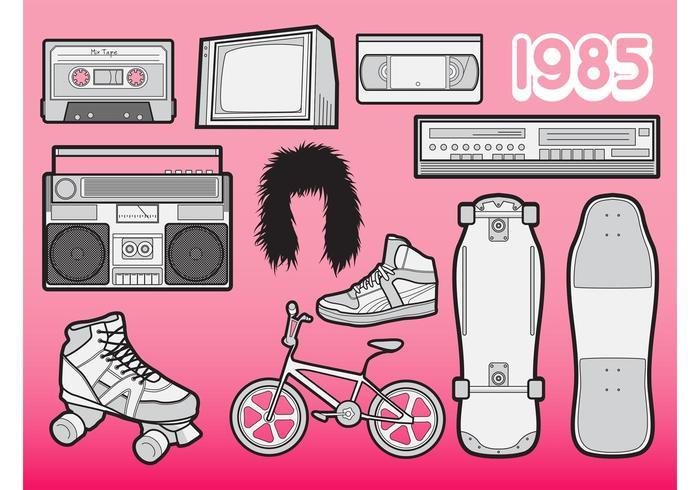 80s Vectors