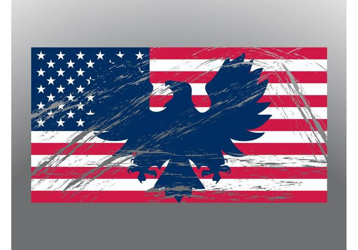 Patriotische Flagge