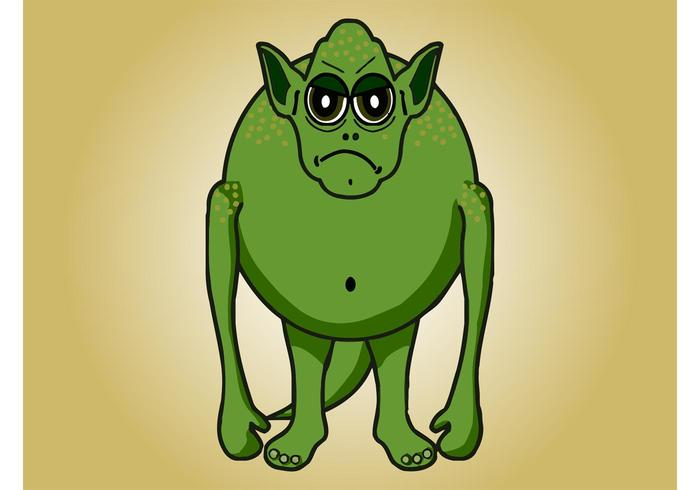Grumpy Monster