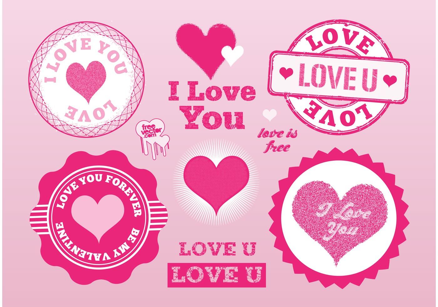 Love Stamps Vectors - Download Free Vector Art, Stock Graphics & Images