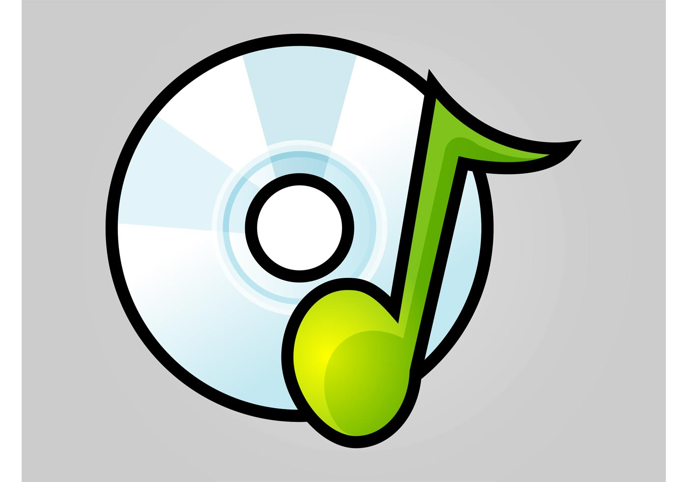vector icon music graphics system edit