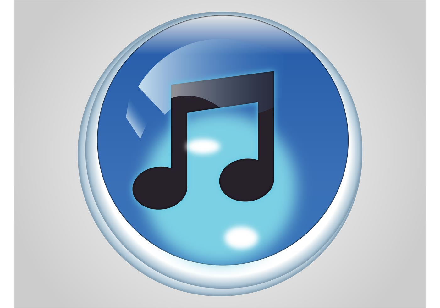 iTunes Icon 70534 Vector Art at Vecteezy