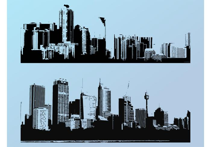 city silhouette free vector art 11336 free downloads rh vecteezy com city skyline silhouette free vector london city silhouette vector
