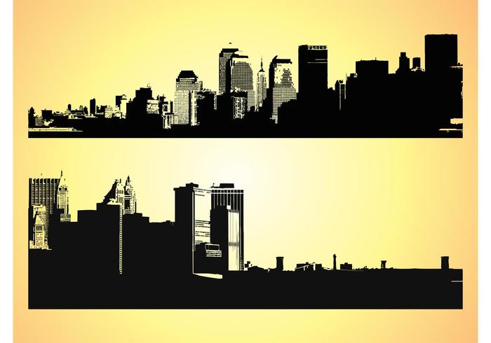 Big Cities Vectors