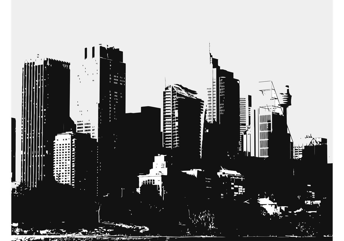 Big City Buildings - Download Free Vector Art, Stock ...