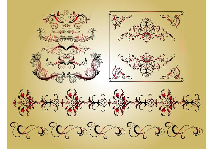 Antique Flowers Graphics