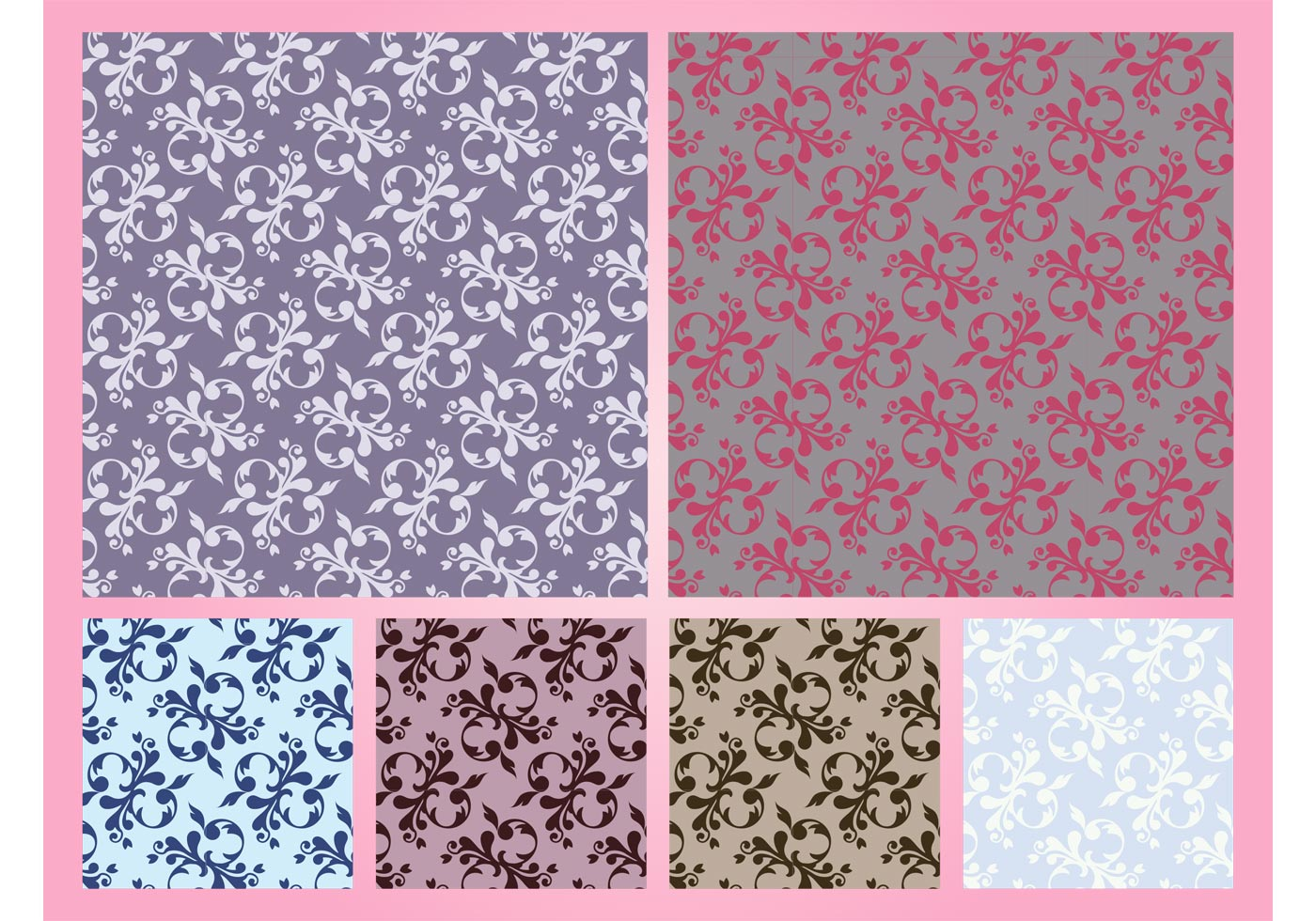 Floral patterns vector graphics download free art