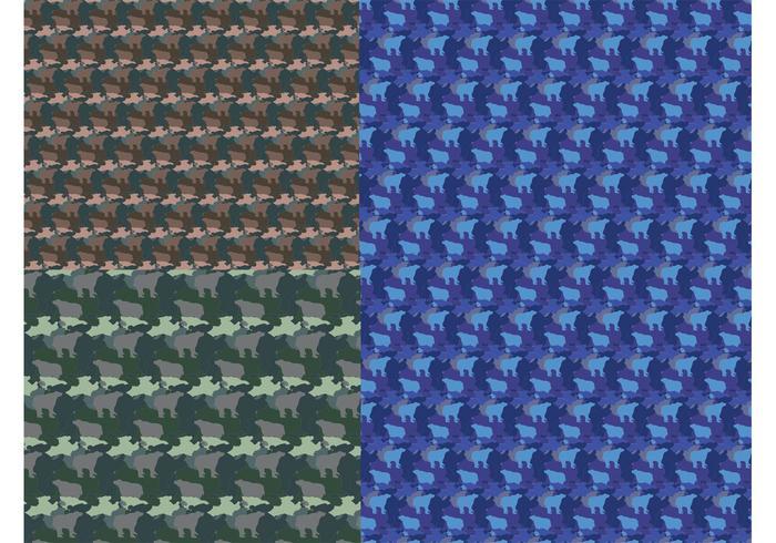 Camouflage Bears